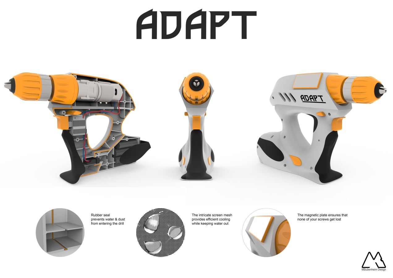 Adapt Drill - Orthographic Views
